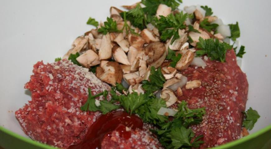 Картинки по запросу cebolla rellena de carne molida envuelta en tocino