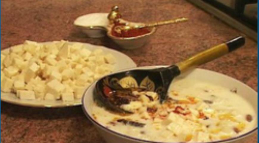 Рецепт Ашрык – ритуальный суп из вяленого мяса (адыгская, черкесская кухня)