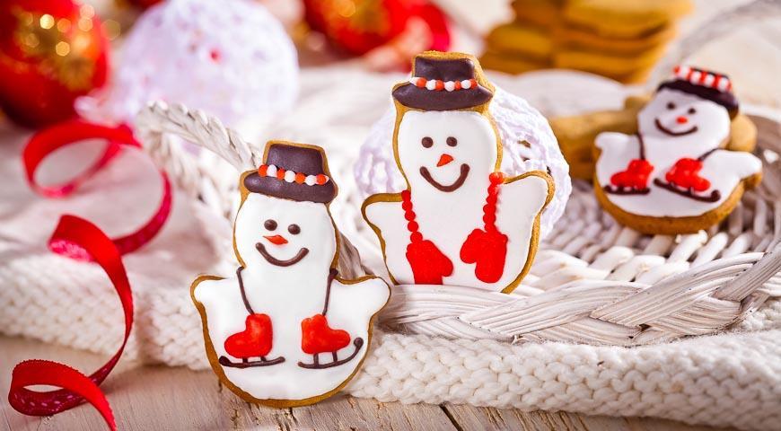 Рецепт Пряничные снеговики