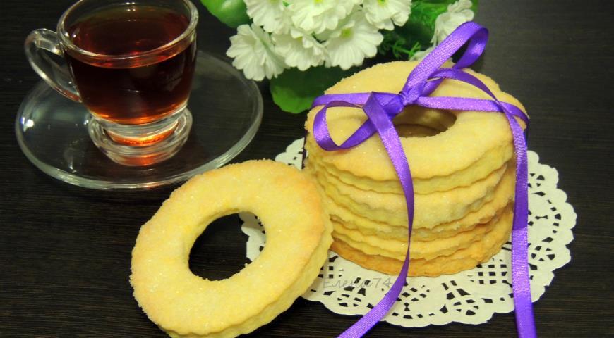 Рецепт Песочное печенье с коньяком