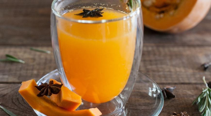 Рецепт Тыквенный пряный чай
