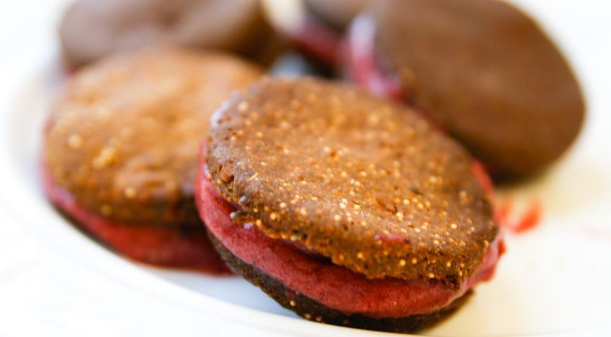 Рецепт Печенье с амарантом и ржаной мукой