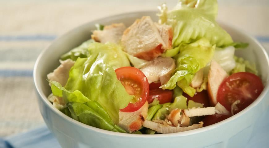 салат подарок рецепт с фото с курицей