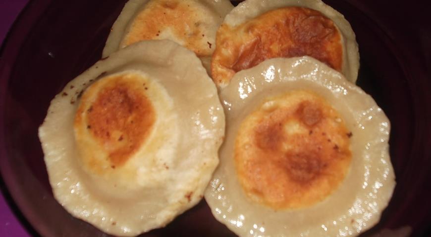 Рецепт Пирожки сырные с ветчиной