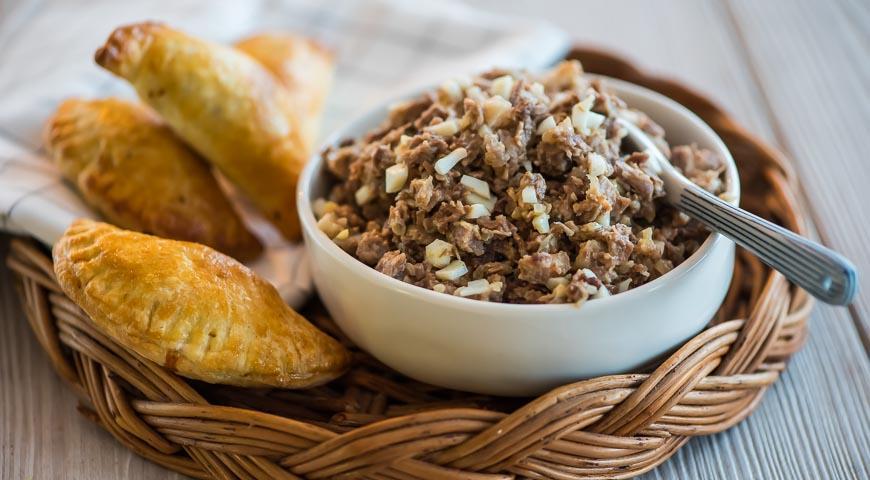 Рецепт Фарш для пирога, пирожков или блинчиков