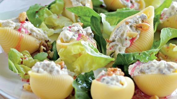 Фаршированные ракушки рецепт с фото