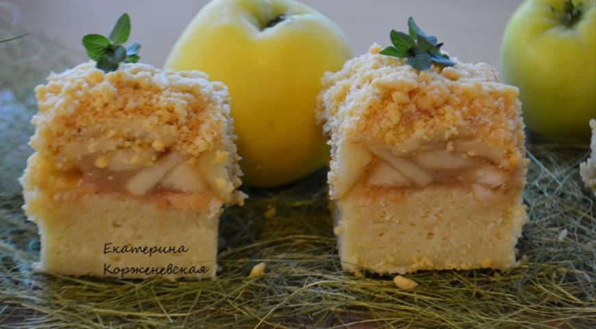 Венский яблочный пирог 2
