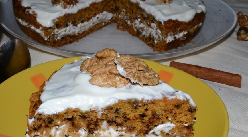 Рецепт Морковный кекс из мультиварки