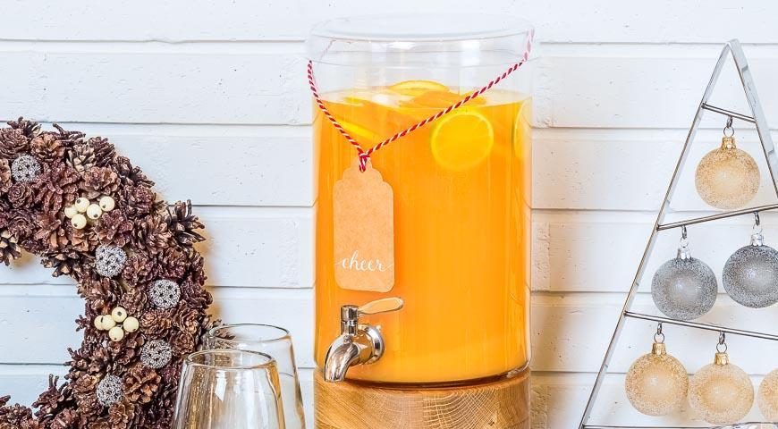 Рецепт Пунш с апельсинам, лаймом, лимоном и специями