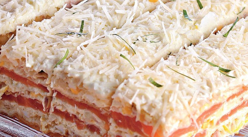 Рецепт Закусочный торт