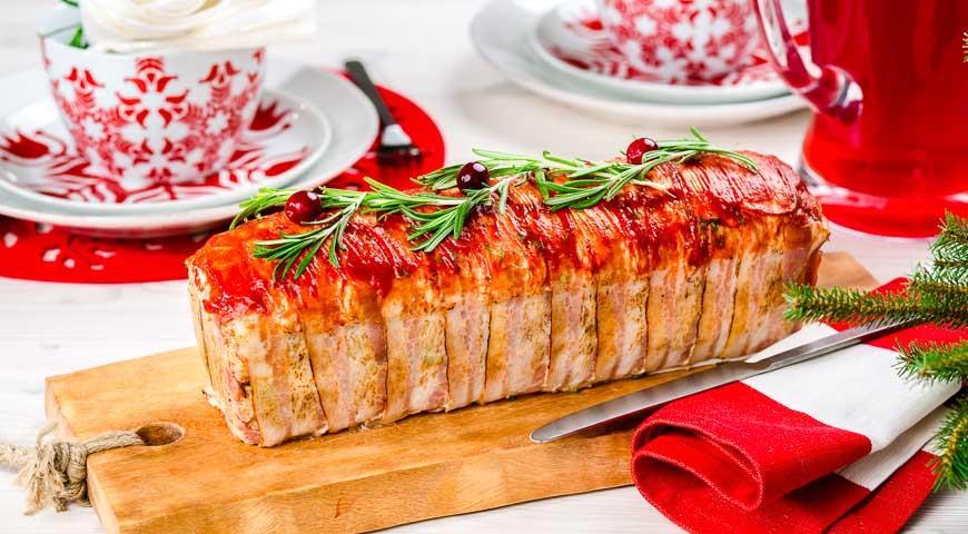 Рецепт Террин из мяса птицы с перцем и оливками