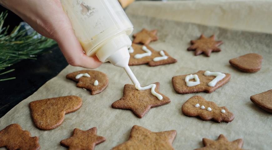 Рецепт Базовый рецепт имбирного печенья