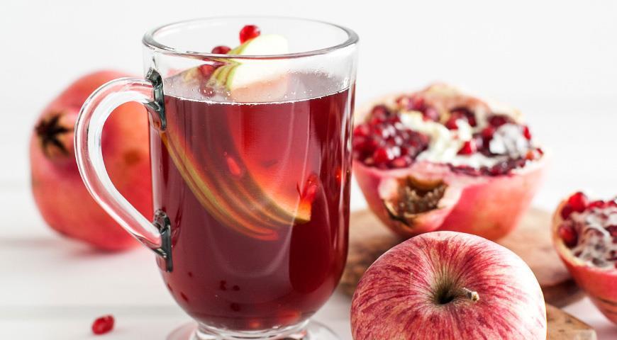Рецепт Напиток Гранатовый заряд
