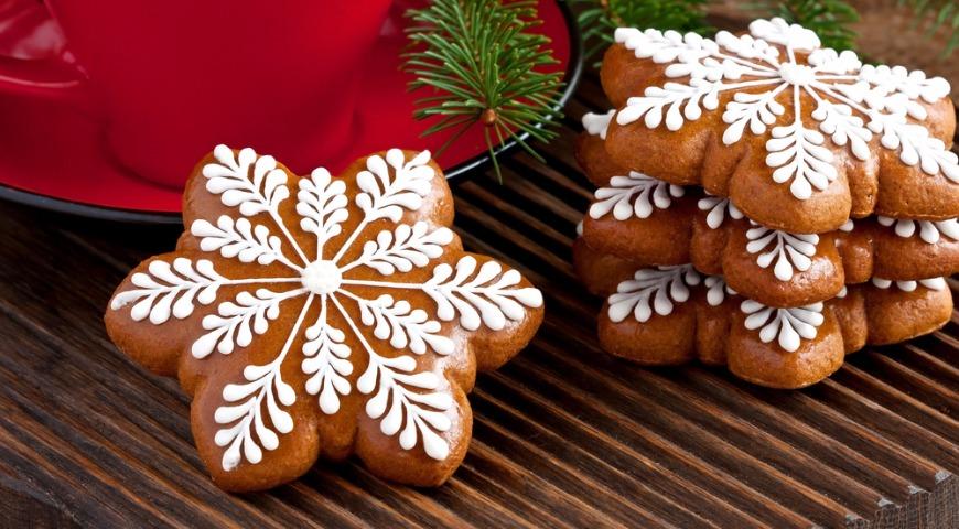 Рецепт пряничного печенье на новый год