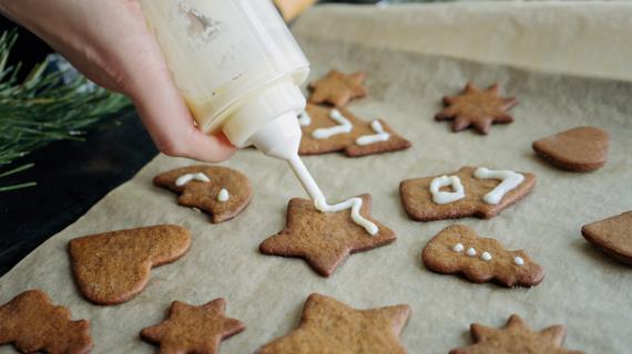 Базовый рецепт имбирного печенья, пошаговый рецепт с фото