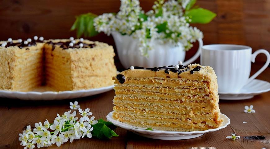 Рецепт Арахисовый торт