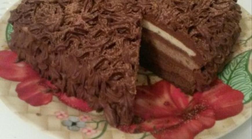 """Рецепт Торт """"Шоколадная радуга"""""""