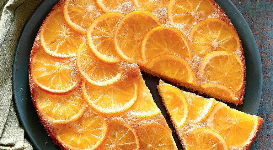 Пирог с апельсином и лимоном рецепт