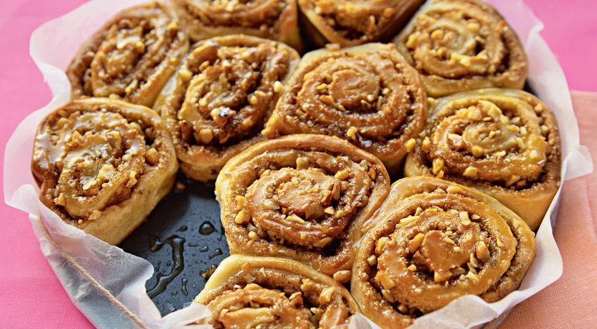 Творожные булочки сорехами