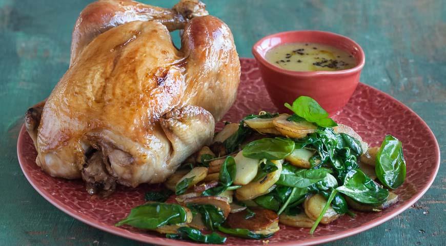 Рецепт Курица, запеченная в фольге