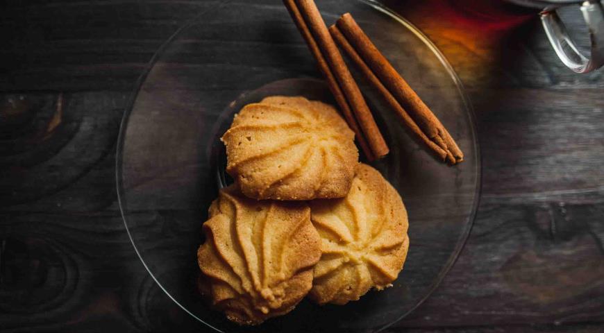 Рецепт Danish butter cookies. Датское печенье