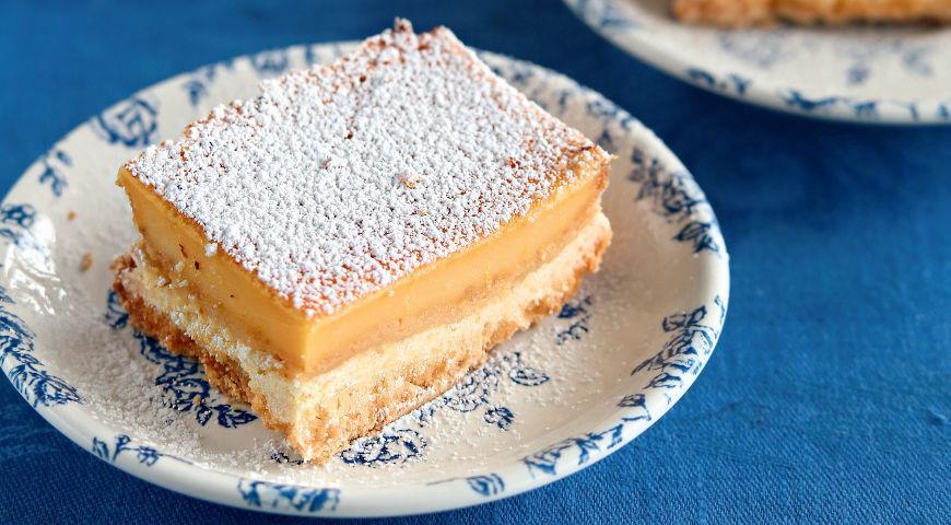 Лимонные пирожные, пошаговый рецепт с фото