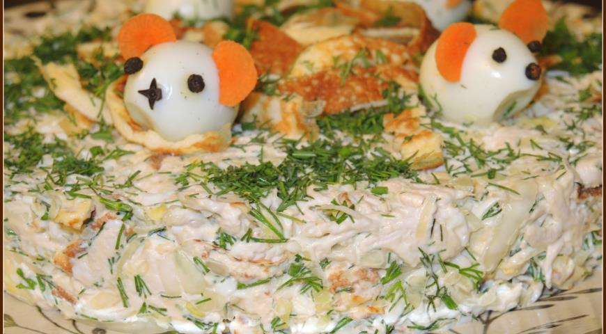 смотреть рецепты салатов с капустой