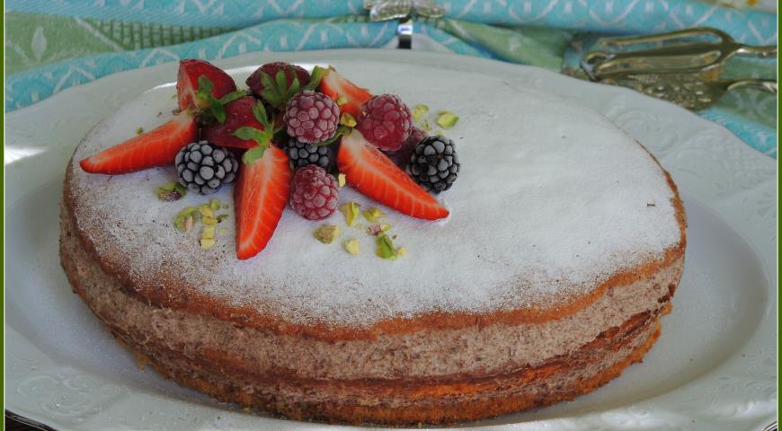 Бисквитный торт фото-рецепты