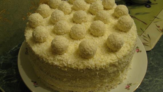 Торт с творожной крошкой фото 1