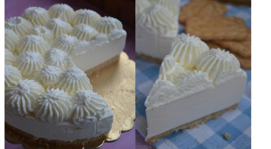 Рецепт Торт-мусс со вкусом пломбира