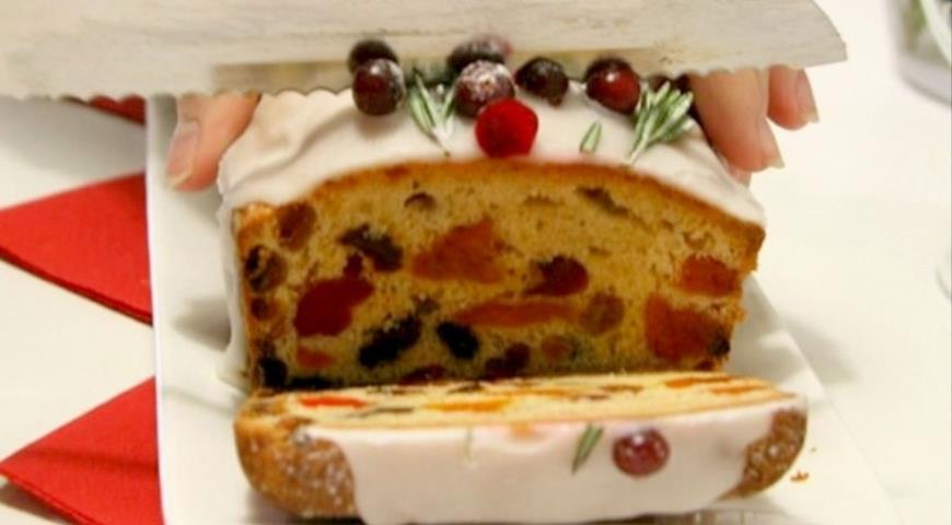 Рождественский кекс с коньяком, пошаговый рецепт с фото