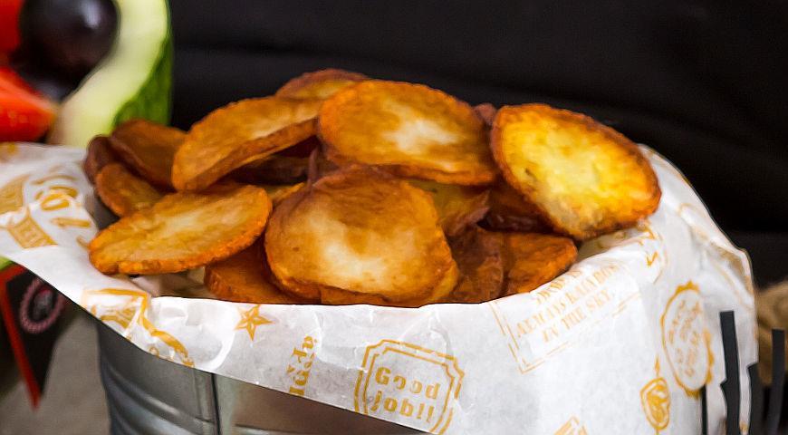 Рецепт Золотые монеты из картофеля