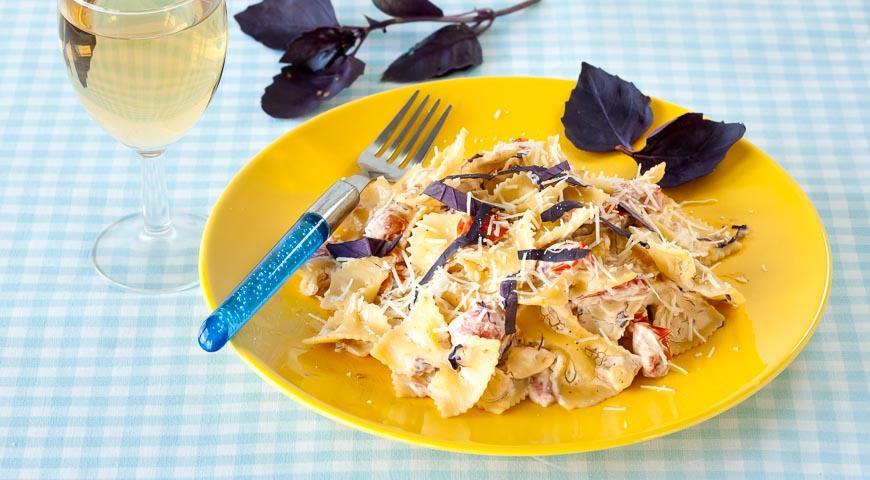 Паста с помидорами и рикоттой, пошаговый рецепт с фото
