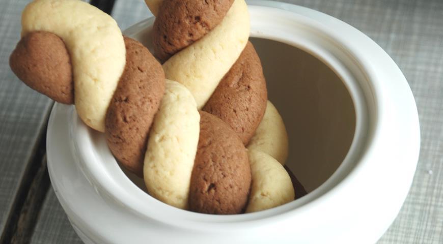пошаговый рецепт приготовления песочного печенья
