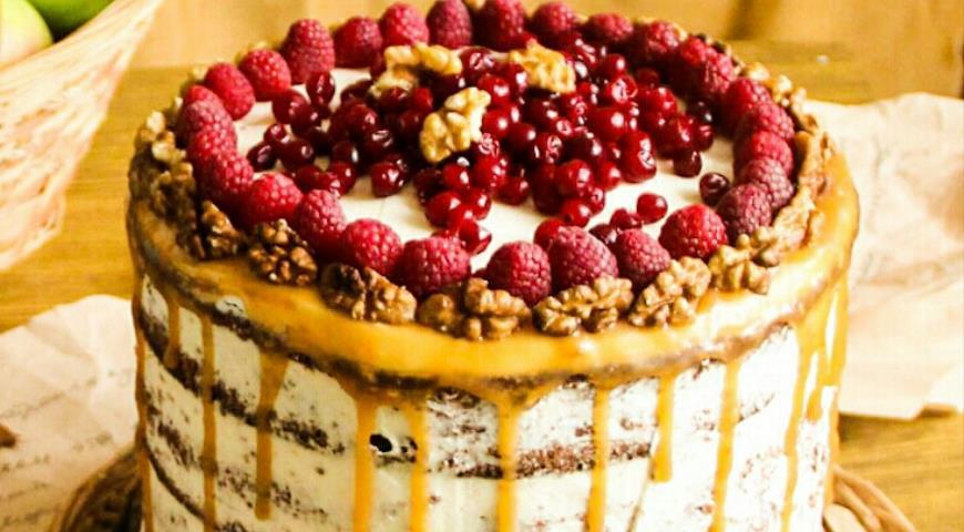 торт миланская карамель рецепт