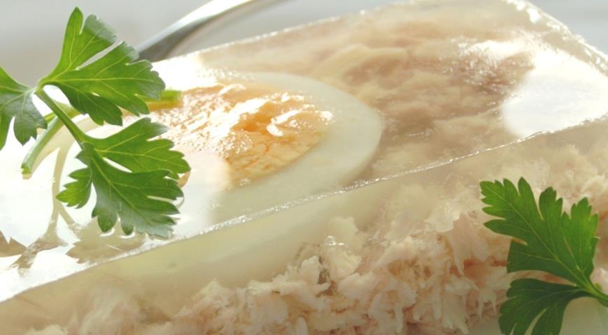 Рецепт Заливное из курицы от Елены Бон