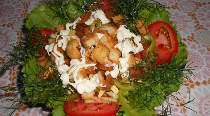 Несложные рецепты салатов с фото
