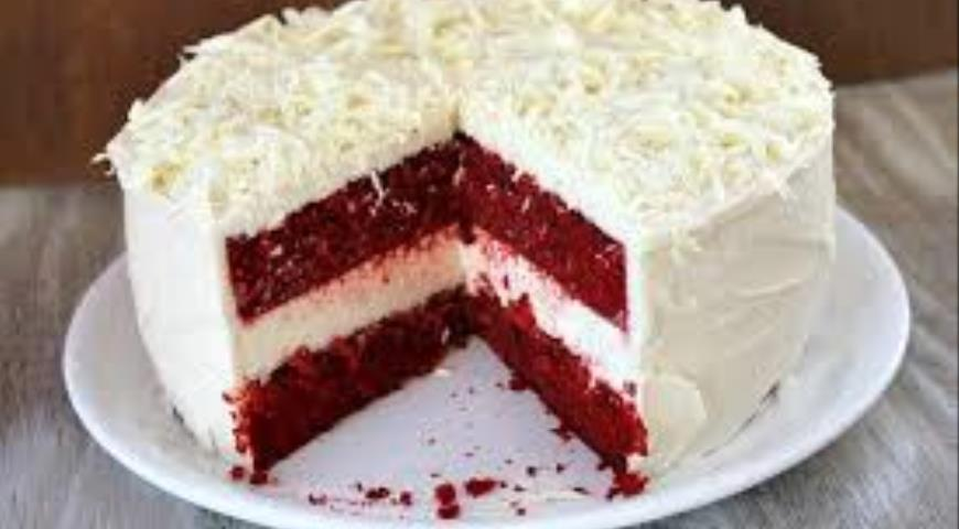 Пирог красный бархат рецепт пошагово 31