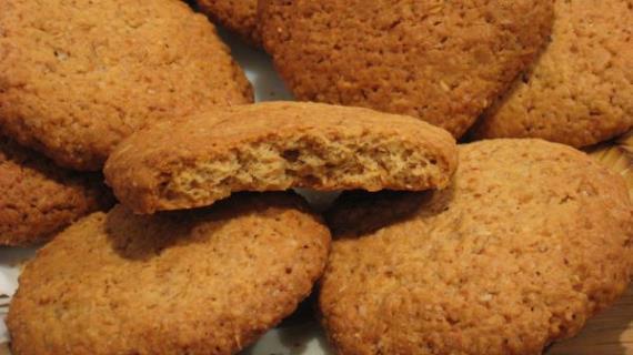 рецепты овсяные печенья