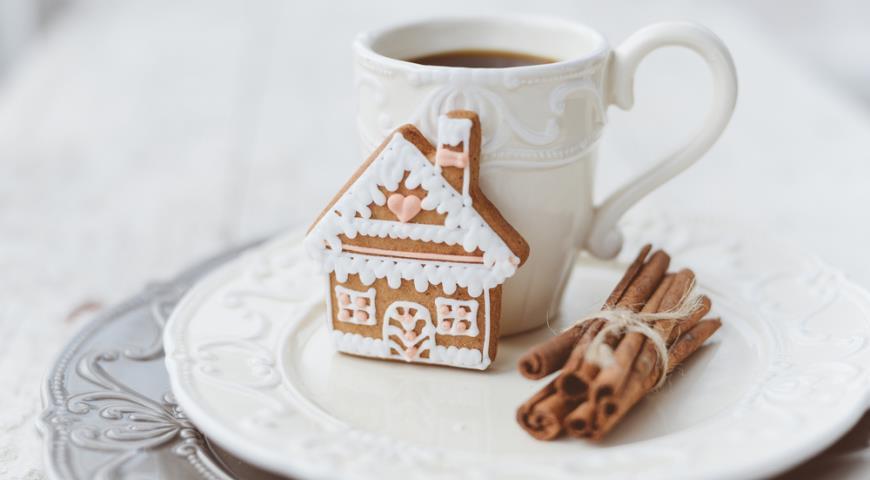 Рецепт Имбирное печенье с какао к новогодним праздникам