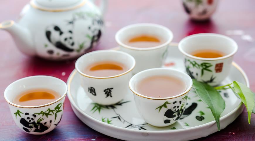 Рецепт Зеленый чай