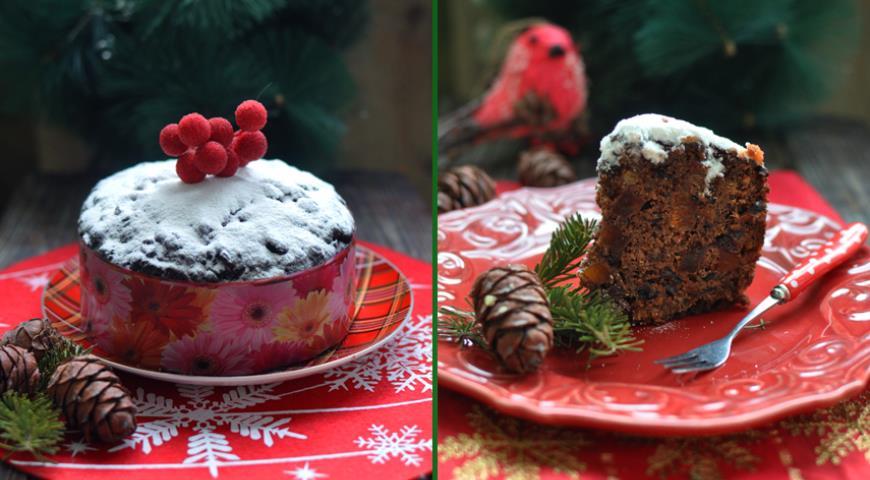 Рецепт Рождественский английский кекс
