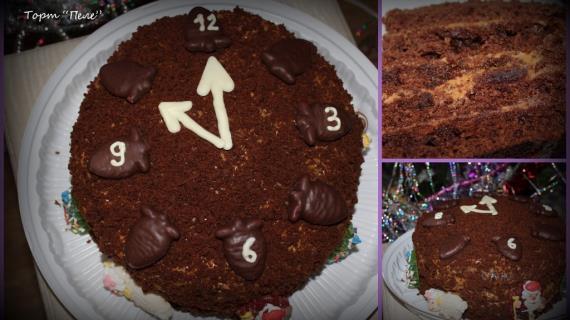 Торт пеле в домашних условиях
