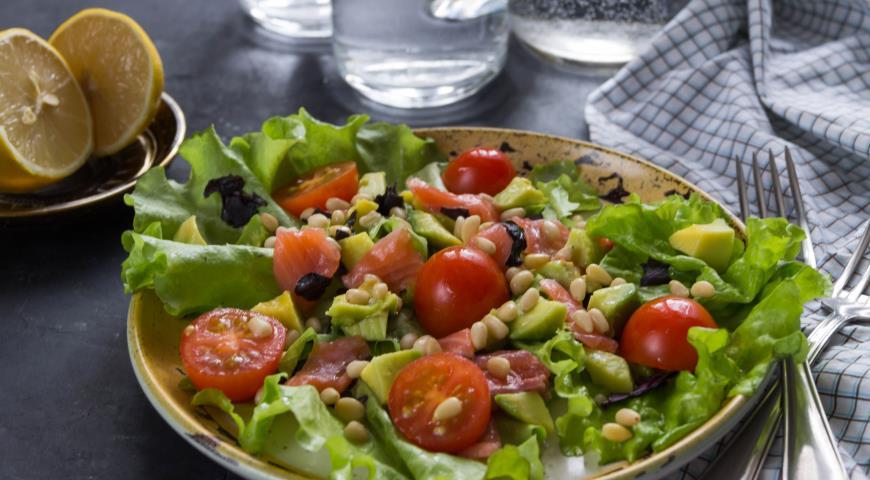как сделать салат из авокадо