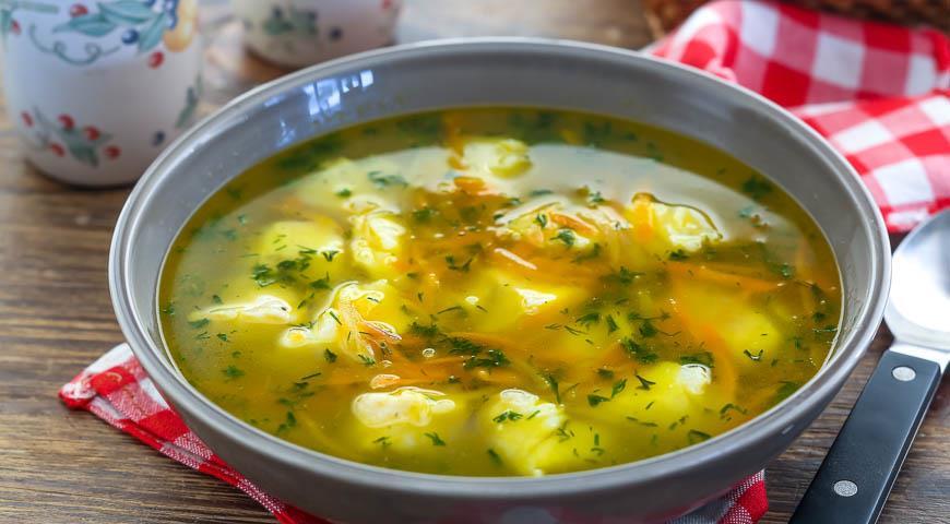 Рецепт Суп рыбный с картофелем