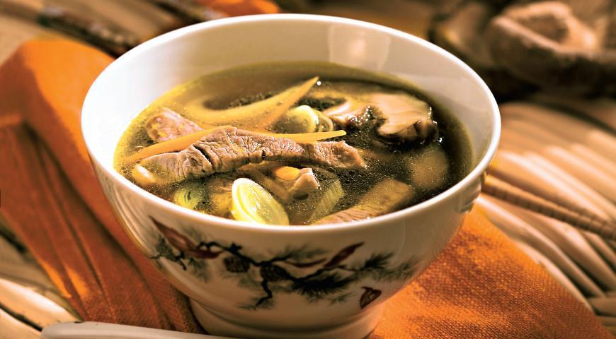 пшенный суп со свининой рецепт