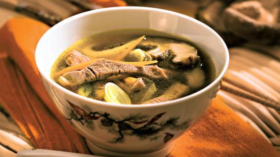 Овощной суп свининой рецепт фото