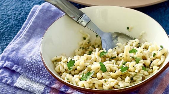 Паста шпецле, пошаговый рецепт с фото