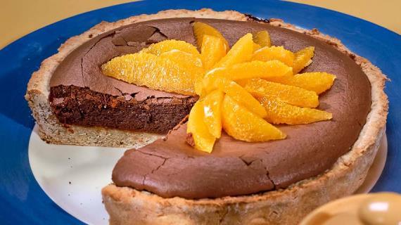 Фото шоколадного пирога рецепт с