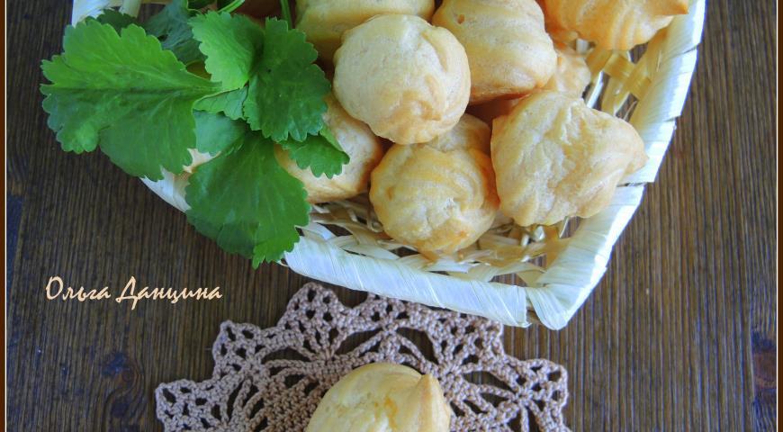 Рецепт Мини-эклеры закусочные